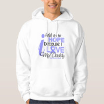 Prostate Cancer Hope for My Daddy Hoodie