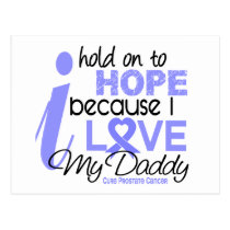 Prostate Cancer Hope for My Daddy Postcard
