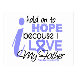 Prostate Cancer Hope for My Father Postcard