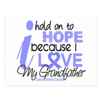 Prostate Cancer Hope for My Grandfather Postcard