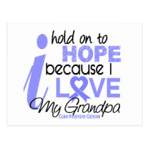 Prostate Cancer Hope for My Grandpa Postcard