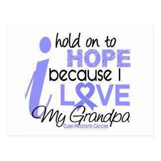 Prostate Cancer Hope for My Grandpa Postcard