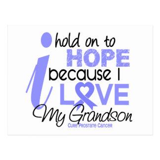 Prostate Cancer Hope for My Grandson Postcard