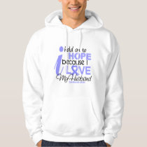 Prostate Cancer Hope for My Husband Hoodie