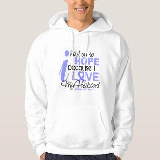 Prostate Cancer Hope for My Husband Sweatshirt