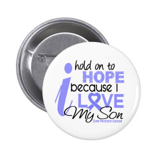 Prostate Cancer Hope for My Son Pin