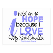 Prostate Cancer Hope for My Son-In-Law Postcard