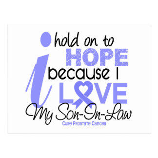 Prostate Cancer Hope for My Son-In-Law Post Card