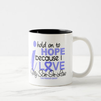 Prostate Cancer Hope for My Son-In-Law Two-Tone Coffee Mug