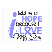 Prostate Cancer Hope for My Son Postcard