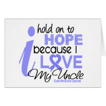 Prostate Cancer Hope for My Uncle Card