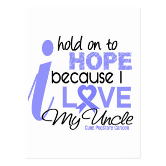 Prostate Cancer Hope for My Uncle Postcard