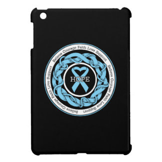 Prostate Cancer Hope Intertwined Ribbon Cover For The iPad Mini