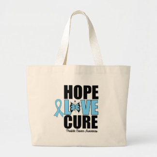 Prostate Cancer Hope Love Cure Bags