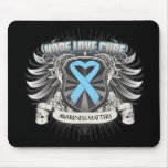 Prostate Cancer Hope Love Cure Mouse Pad