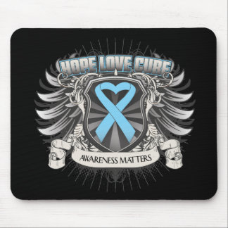 Prostate Cancer Hope Love Cure Mousepads