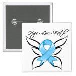 Prostate Cancer Hope Love Faith Buttons