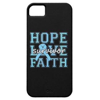 Prostate Cancer Hope Love Faith Survivor iPhone 5 Covers