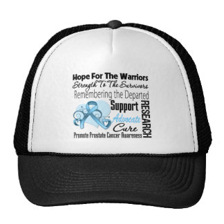 Prostate Cancer Hope Tribute Collage Trucker Hat