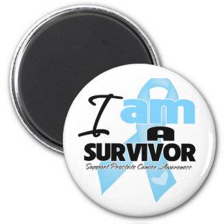 Prostate Cancer - I am a Survivor Refrigerator Magnet