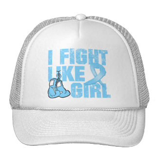 Prostate Cancer I Fight Like A Girl (Grunge) Trucker Hat