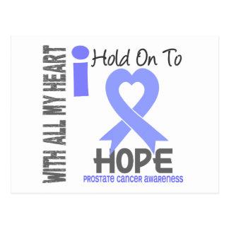 Prostate Cancer I Hold On To Hope Postcard