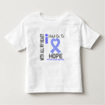 Prostate Cancer I Hold On To Hope Toddler T-shirt