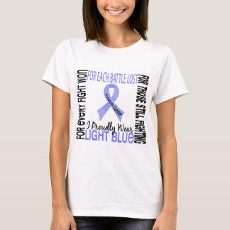 Prostate Cancer I Proudly Wear Light Blue 2 T-Shirt