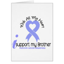 PROSTATE CANCER I Support My Brother Card