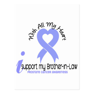 PROSTATE CANCER I Support My Brother-In-Law Post Card