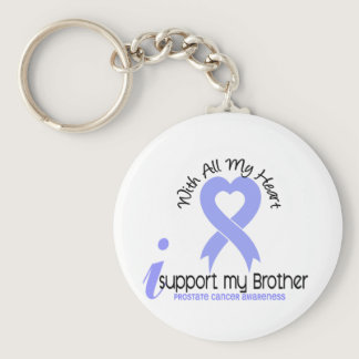 PROSTATE CANCER I Support My Brother Keychain