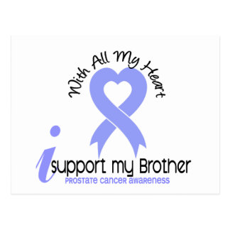 PROSTATE CANCER I Support My Brother Postcards