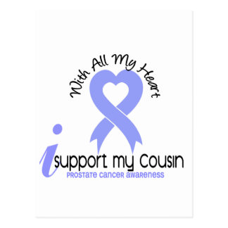 PROSTATE CANCER I Support My Cousin Postcard