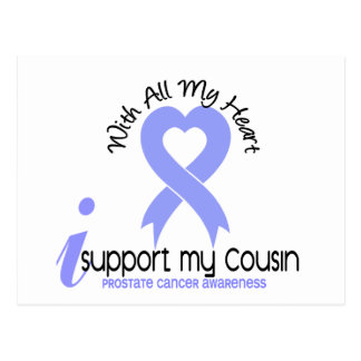 PROSTATE CANCER I Support My Cousin Post Cards