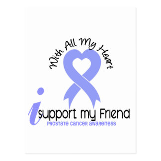 PROSTATE CANCER I Support My Friend Post Cards