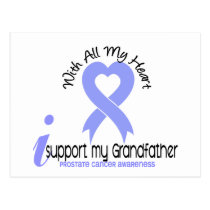 PROSTATE CANCER I Support My Grandfather Postcard