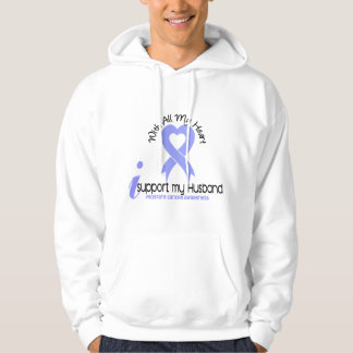 PROSTATE CANCER I Support My Husband Hoodie