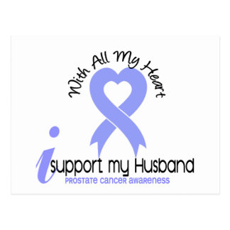 PROSTATE CANCER I Support My Husband Post Card