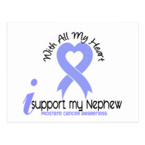 PROSTATE CANCER I Support My Nephew Postcard