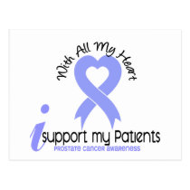 PROSTATE CANCER I Support My Patients Postcard