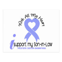 PROSTATE CANCER I Support My Son-In-Law Postcard