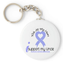 PROSTATE CANCER I Support My Uncle Keychain