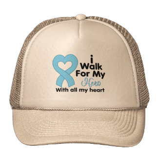 Prostate Cancer I Walk For My Hero Mesh Hats