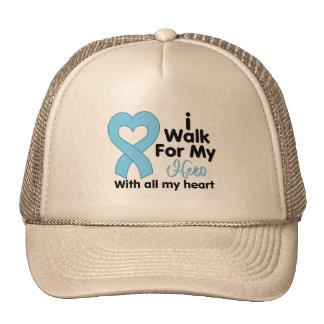 Prostate Cancer I Walk For My Hero Mesh Hats