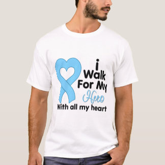 Prostate Cancer I Walk For My Hero T-Shirt