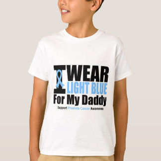 Prostate Cancer I Wear Light Blue For My Daddy T-Shirt