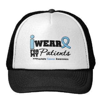 Prostate Cancer I Wear Light Blue For My Patients Mesh Hat