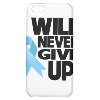 Prostate Cancer I Will Never Give Up Case For iPhone 5C