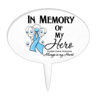 Prostate Cancer In Memory of My Hero Cake Picks