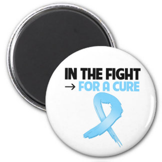 Prostate Cancer In The Fight For a Cure Refrigerator Magnet